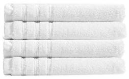 Cotton Craft - Super Zero Twist 4 Pack Hand Towel Set 16x30