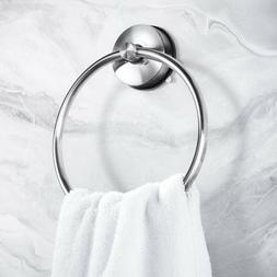 Yohom SUS 304 Stainless Steel Vacuum Suction Cup Round Towel