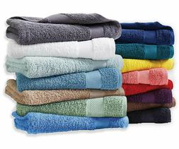 Essential Home Sutton Cotton Bath Towels, Hand Towels and Wa