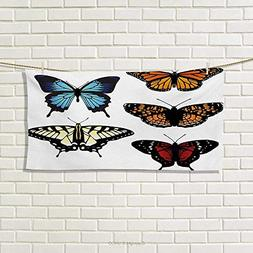 Chaneyhouse Swallowtail Butterfly,Hand Towel,Five Different