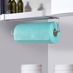 Agordo 10inch Swivel Paper Roll Towel Holder Rack for Kitche