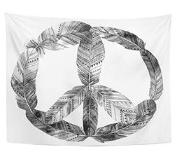 Emvency Tapestry Polyester Fabric Print Home Decor Pacific i