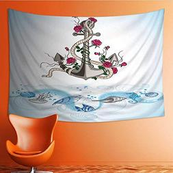 Printsonne Tapestry Table Cover Bedspread Beach Towel Hand D