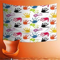 Printsonne Tapestry Table Cover Bedspread Beach Towel Seamle