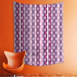 aolankaili Tapestry Wall Hanging Stripes Lines with Abstract