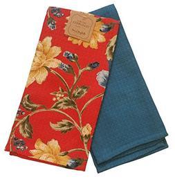 April Cornell Set of 2 Tea Towels 19 X 27 French Provencal F