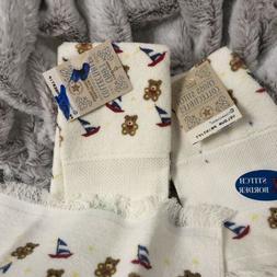 Toddler Boy Bathroom Hand Towels Monogram Ready!
