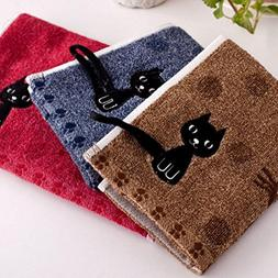 KINGOU Towel Pure Cotton Jacquard Weave Baby/Kid/Children Ha