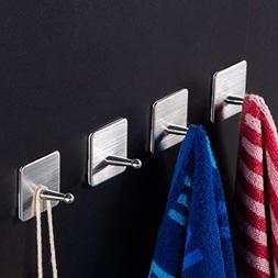 Taozun Towel Hooks Self Adhesive Hook Bath Coat Robe Hooks B