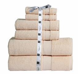 towel set 6 piece set cotton 600