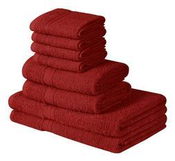 Beauty Threadz Towel Set 8 Piece Set 2 Bath Towel 2 Hand Tow