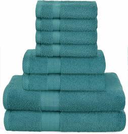 Towel Set 8 Piece Set Bath Towel Hand Towel Washcloth Also i