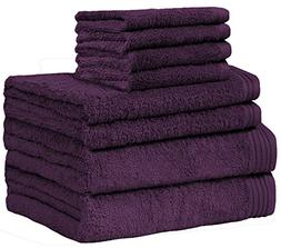 Weidemans Premium 8 Pieces Towel Set Including 2 Bath Towels