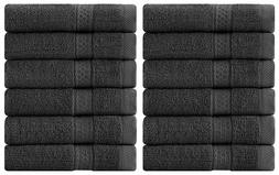 12 Pack Towel Set Luxury Cotton Washcloth 12x12 Inch Wholesa