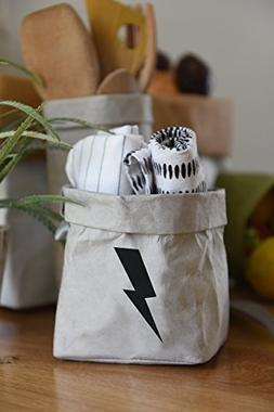 Towel Storage Basket, Mini Kitchen Counter Organizer Box, Du
