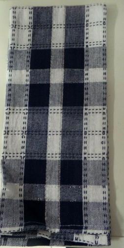 TOWELS..KITCHEN / HAND ..BLUE PLAID