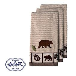 Natures Trail Hand Towels - Bathroom Shower Collection - Set