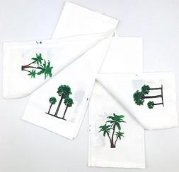 INDIA OVERSEAS Tropical Palm Trees Hand Towels: Simply Fun R