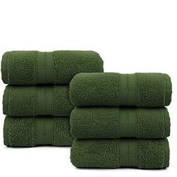 Towel Bazaar Premium Turkish Hand Towel Set, 16 x 30 inches