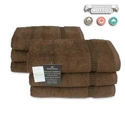 "Turkish Luxury Hotel & Spa 16""x30"" Hand Towel Set of 6 Cotto"