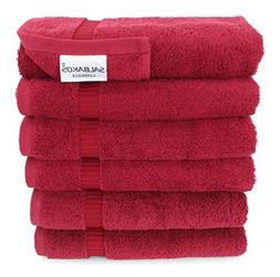 "Turkish Luxury Hotel & Spa 16""x30"" Hand Towel Set of 6 Turki"