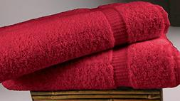 Turkish Luxury Hotel & Spa 35x70 Bath Sheet Set of 2, Turkis