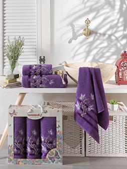 ixirhome Turkish Towel Set 3 Piece,100% Cotton, 1 Bath Towel