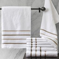 Comfort Spaces Ultra Soft Cotton Bath Towels Set  Kitchen To