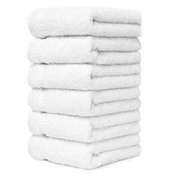 Luxury Turkish Cotton White Hand Towels For Bathroom Kitchen