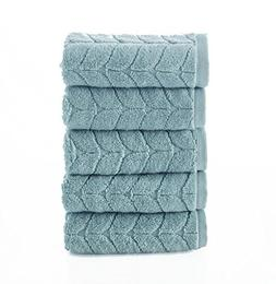 Bagno Milano Ultra Soft Plush Towels, Aqua Fibro World's Fin