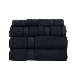 Ultra Soft 100% Cotton 6 Piece Towel Set : 2 Bath Towels, 2