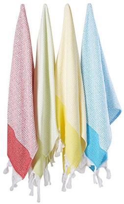 """Unique Hand Face Towel Set Turkish Cotton 20""""x31"""" Pestemal"""