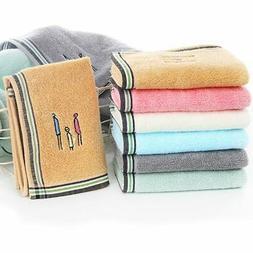 US Luxurious Soft Touch Cotton Towels Face Hand Bath Towel B