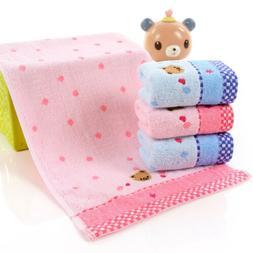 Kawaii Cartoon Small Bear Towel Soft Cotton Hand Cloth Baby