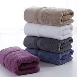Useful 100% Cotton Towels Soft Hand Bath Thick Beach Shower