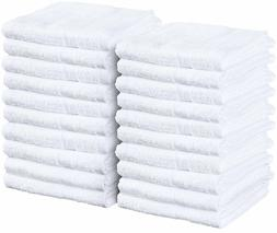 Utopia Towels 24 Pack Hand Towels 16 x 27 inches, White Salo