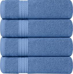 Utopia Towels Cotton Hand, 4 Pack, 700 GSM