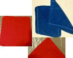 vintage bath towels hand and face washcloths