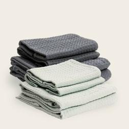 Bathen Waffle Towel Set Charcoal Gray Causebox Fall 2020 - 2