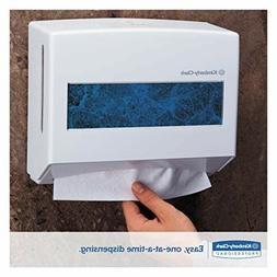 Wall Mount Paper Folded Towel Dispenser Holder Home Hand Kle