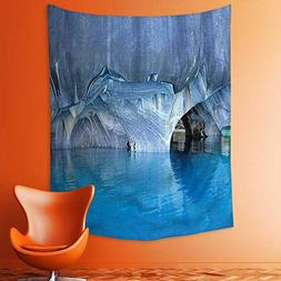 Wall Tapestries Cave General Carrera Lake in Chile Natural W