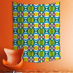 wall tapestries checked pattern