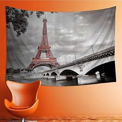 also easy Wall Tapestries Eiffel Tower Bridge Capital City C