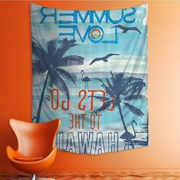 Nalahome Wall Tapestries Love Lets Go to the Hawaii Sunat Tr