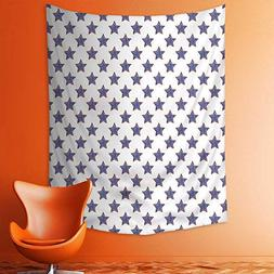 aolankaili Wall Tapestries Stars Theme Pattern National Inde