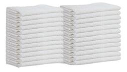 Gold Textiles Pack of 60 Washcloth Kitchen Towels,100% Natur
