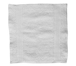 Washcloths –13x13 Inches, White, 60 Pack, 100% Cotton, Hea