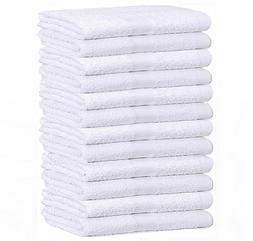 GOLD TEXTILES WHITE ECONOMY 15X25 HAND TOWEL  - 2.25 LB/DOZE