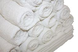 Premium White Hand Towels for Bathroom-Hotel-Kitchen-Spa-Gym