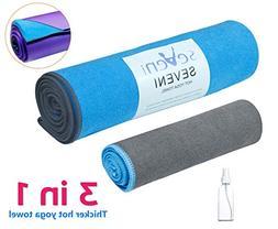 Hot Yoga Towel  + Hand towel  + Free Spray Bottle, New Corne